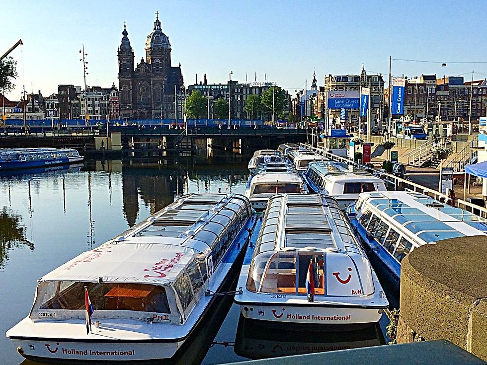 Canal tours, Amsterdam