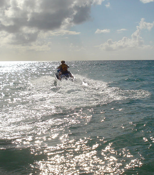 jetskiing St kitts & Nevis