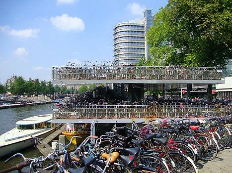 Bike park Amsterdam