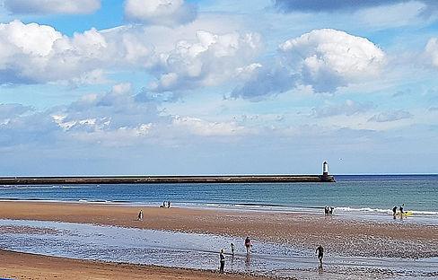 Northumberland seaside