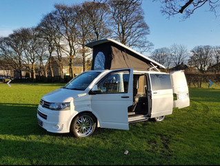 Wanting to make the most of this glorious British summertime then hire one of these amazing VW Trans