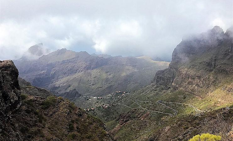 Coach trip masca Tenerife