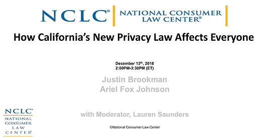 How California's New Privacy Law Affects Everyone