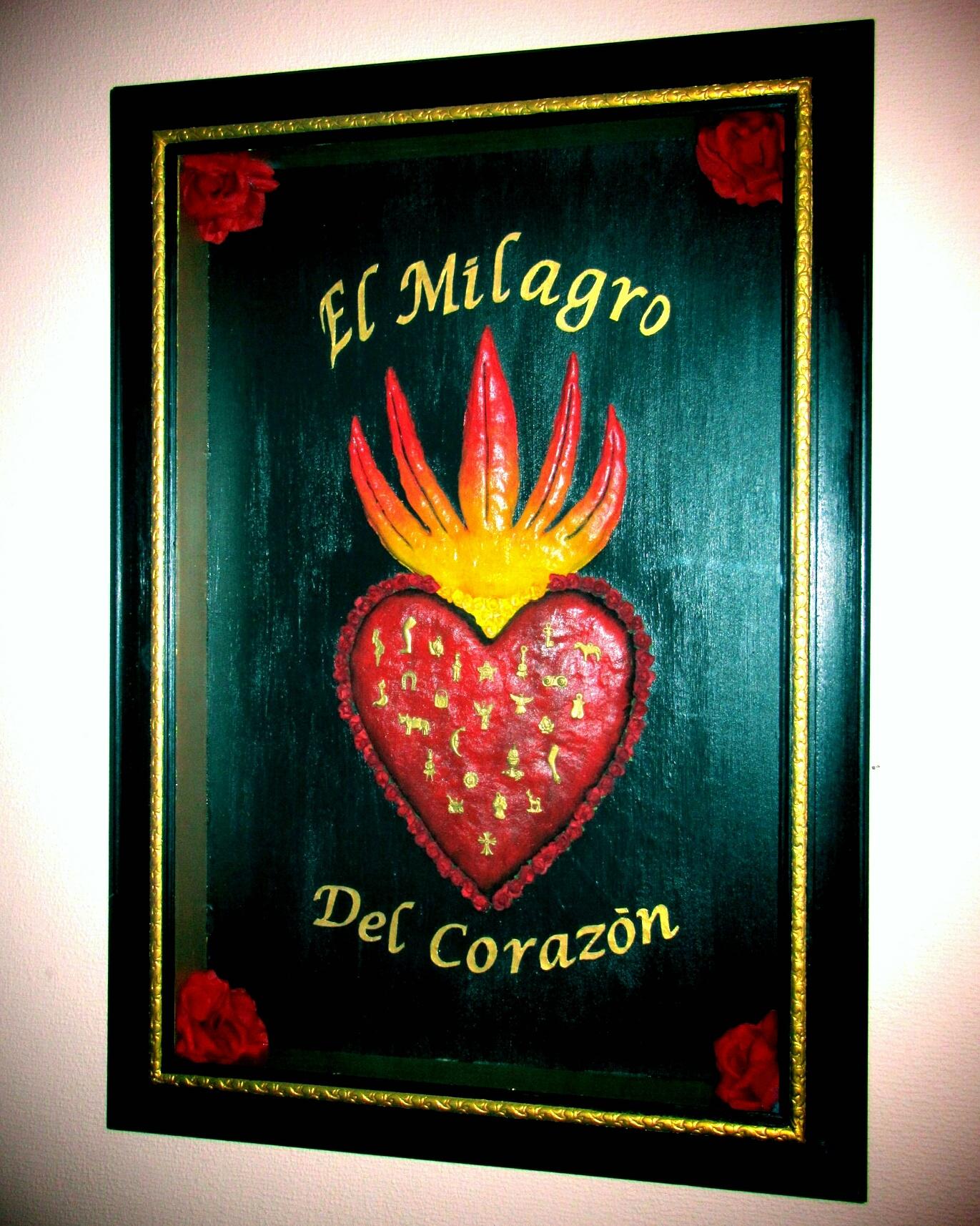 El Milagro del Corazon box