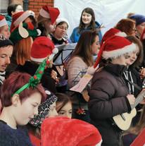 ukulele concert bristol christmas teache
