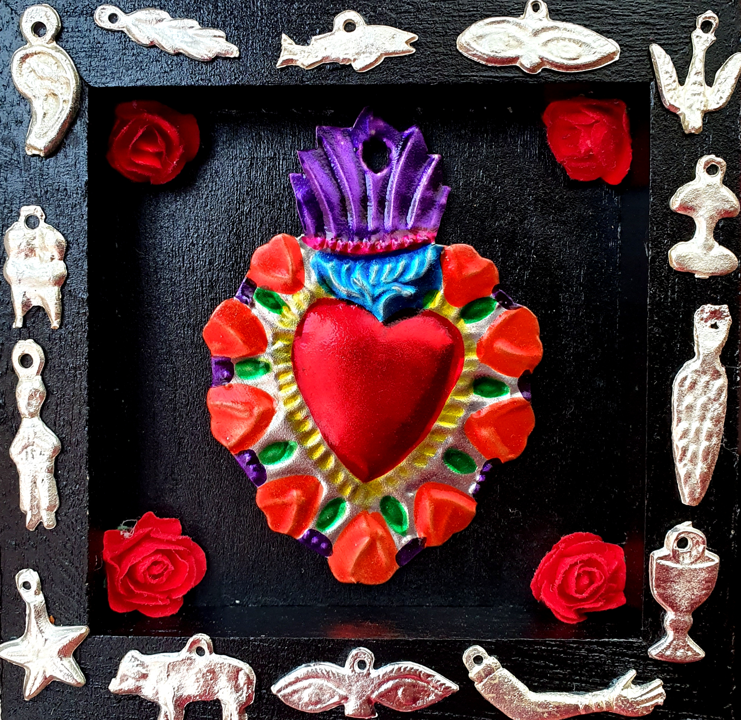Milagro Sacred Heart box
