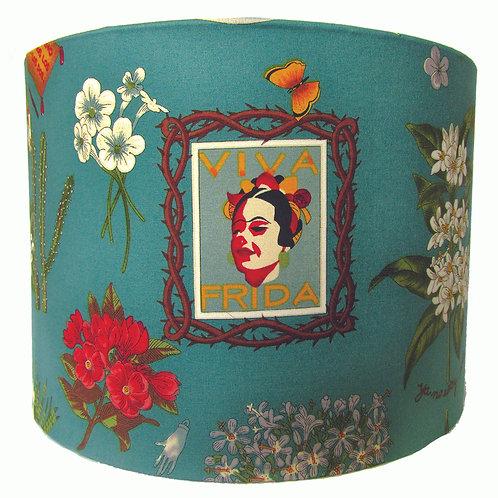 Viva Frida Floral Turquoise Light shade