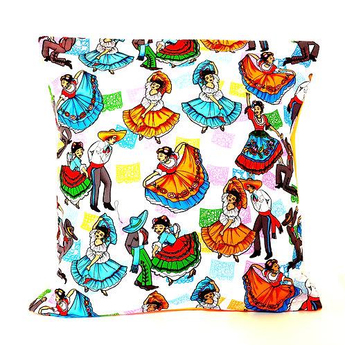 Dancing Mexico Cushion