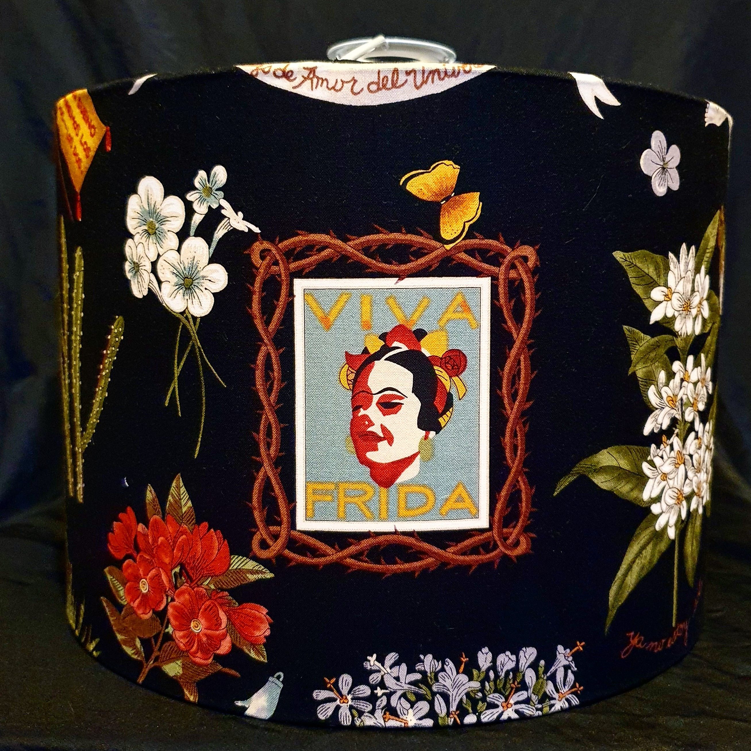 Viva Frida Black backing