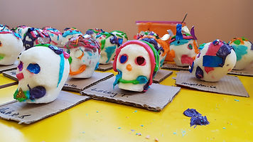 Day of The Dead workshop in Holy Cross S