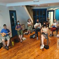 ukulele south bristol social distancing.