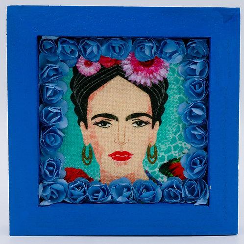 Baby Blue Frida Kahlo Box