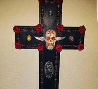 Sugar skull rosary cross_edited