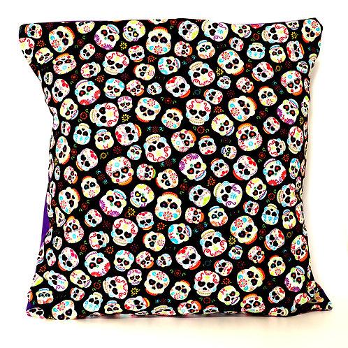 Mexican Sugar Skulls Cushion