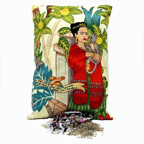 Frida Lavender Pillow -Large