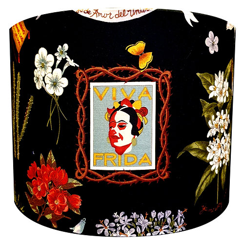 Viva Frida Floral Dark Lightshade