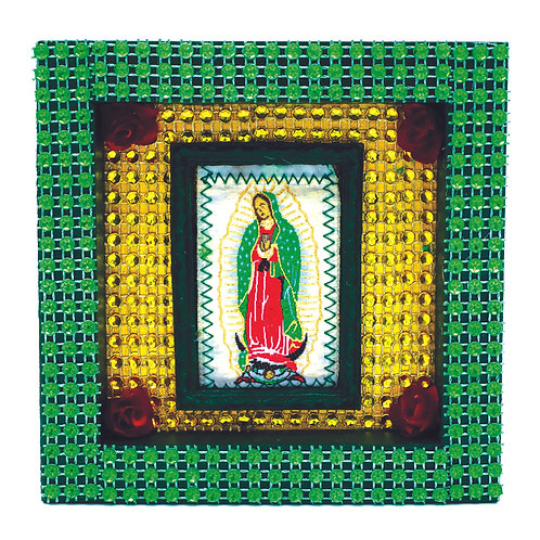 Embroidered Our Lady Of Guadalupe Box