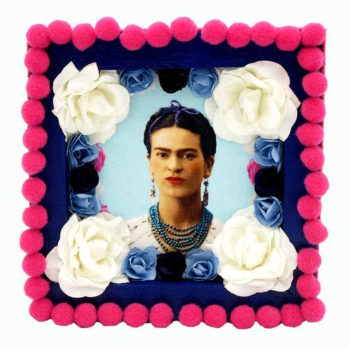 Blue Frida Kahlo Box