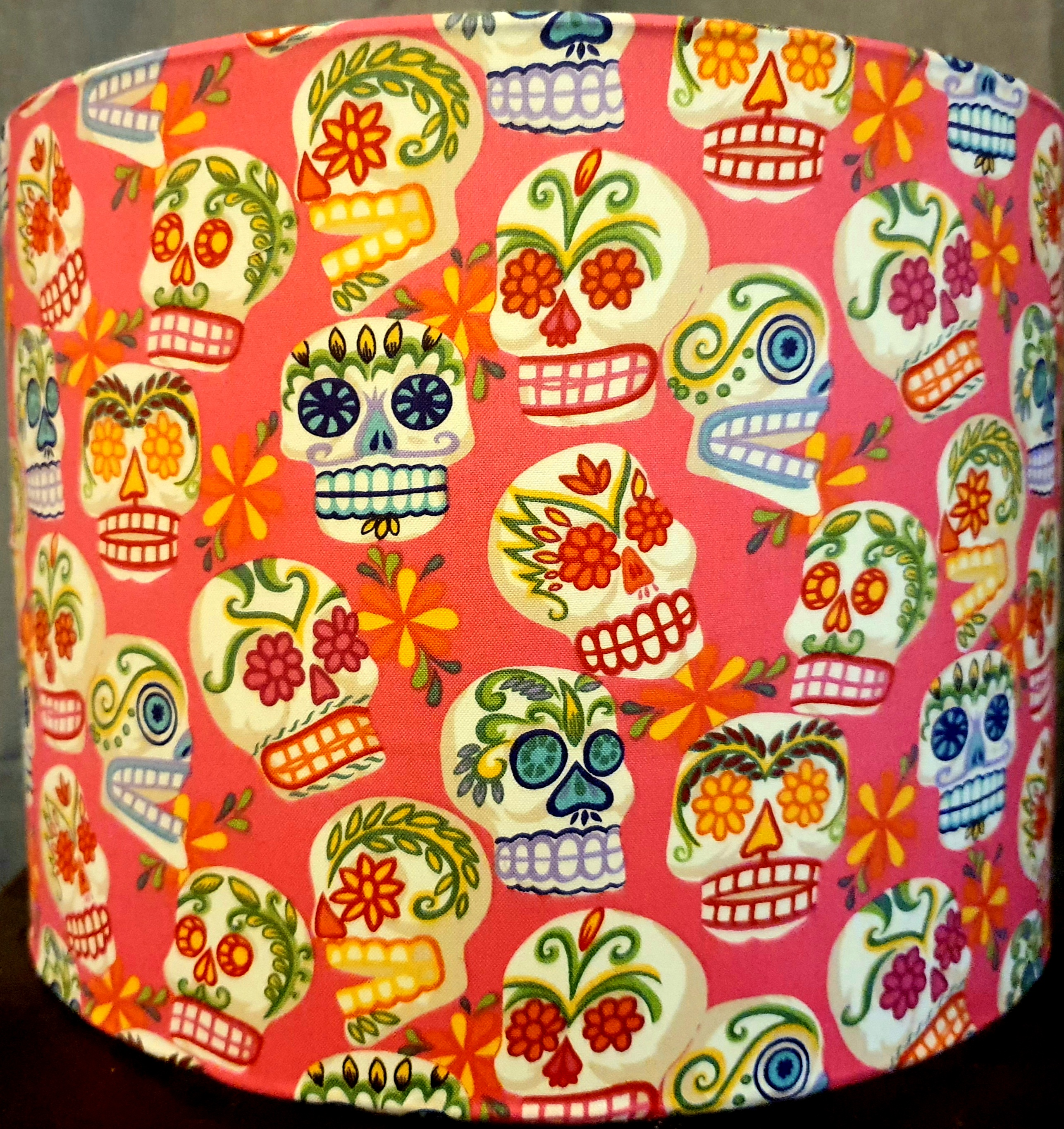 Calaveras (pink backing)