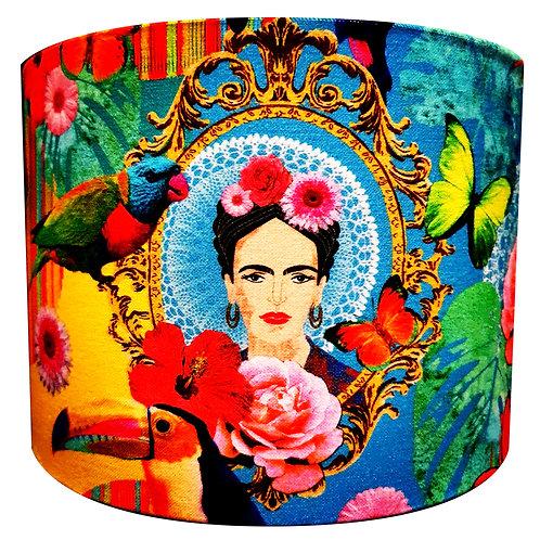 Tropical Frida Kahlo Lightshade