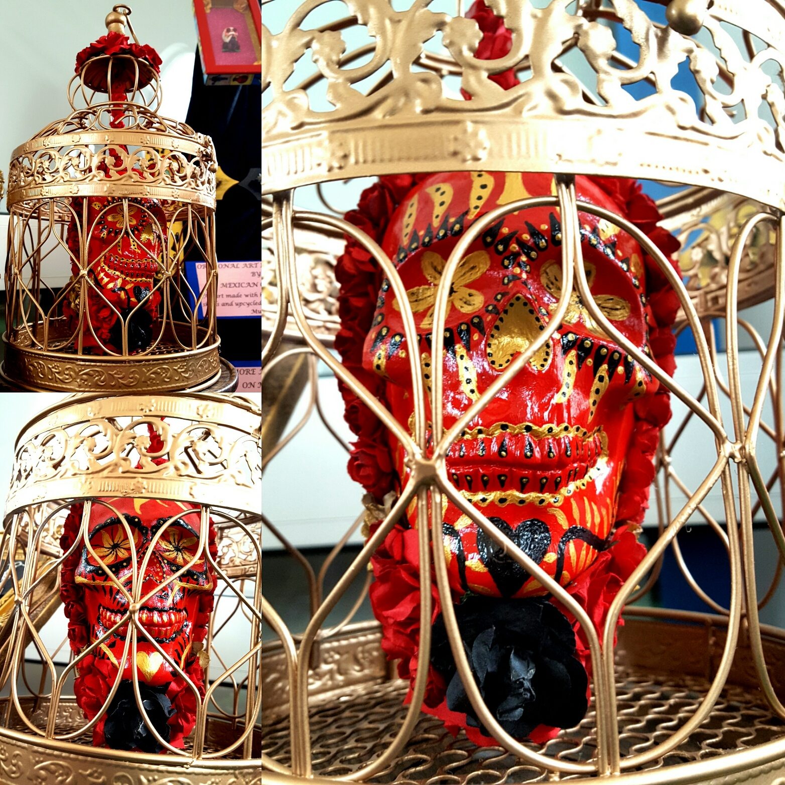 Bird Cage Calavera