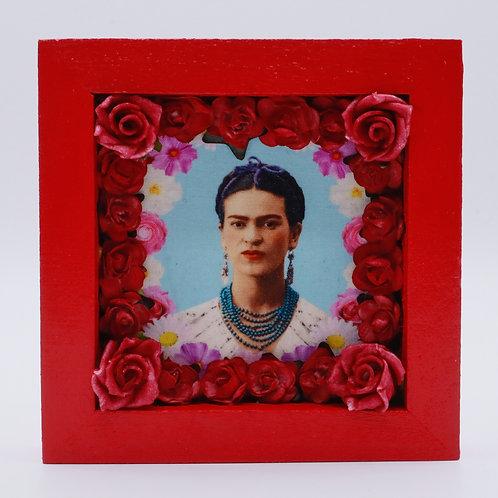 Red Frida Kahlo Box