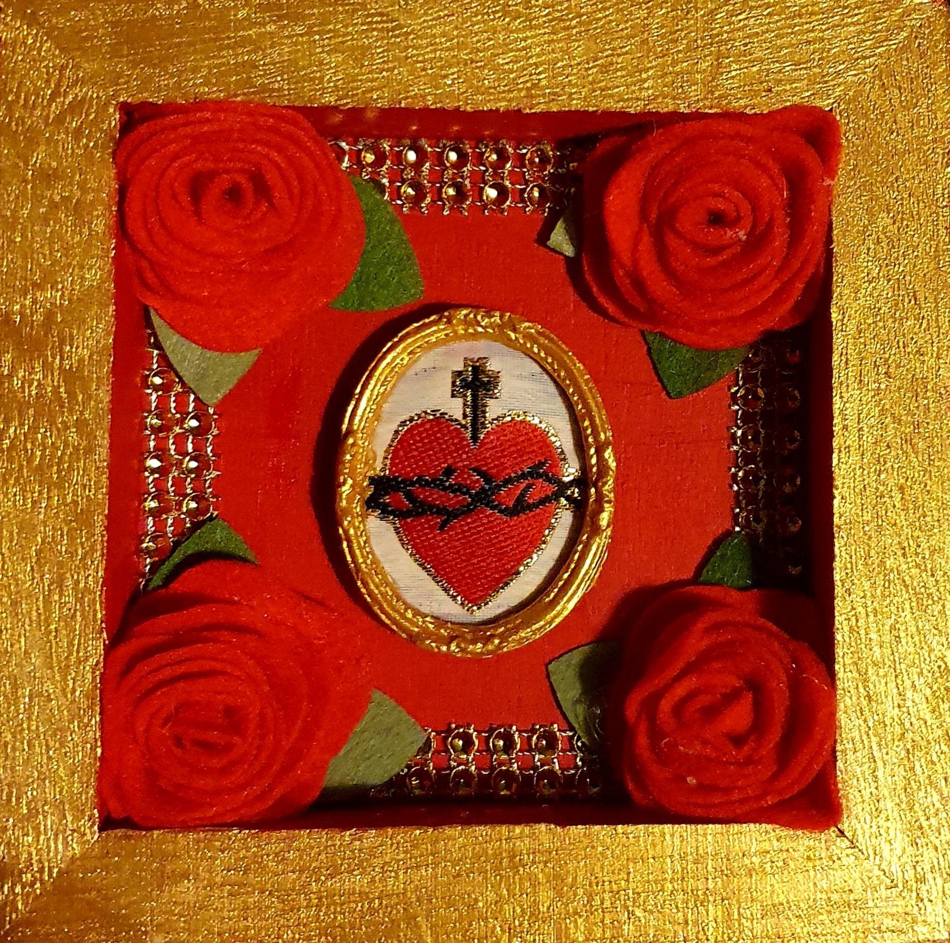 Mini Sacred Heart box