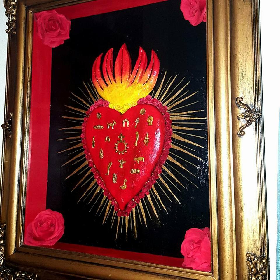 MILAGRO SACRED HEART-LARGE