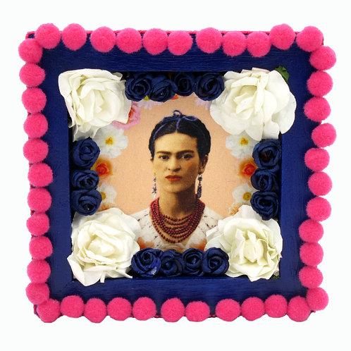 Navy Blue Frida Kahlo Box
