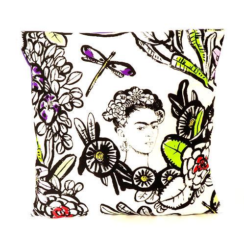 Frida Kahlo Floral Cushion