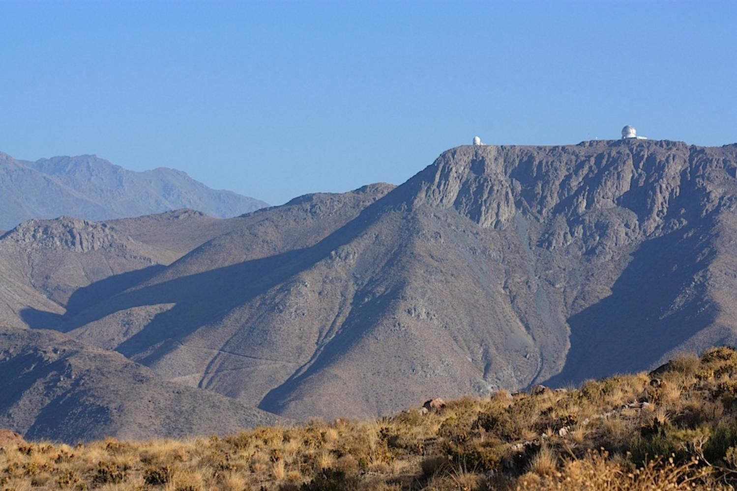 Cerro Pachon views, Chile