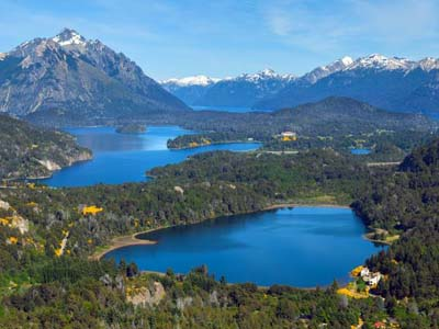 Patagonian Lakes Chile and Argentina