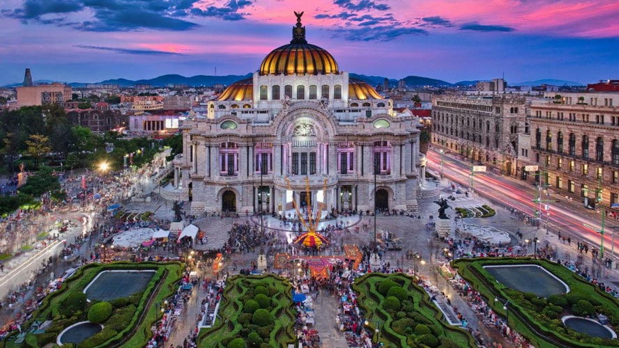 Colonial Mexico City