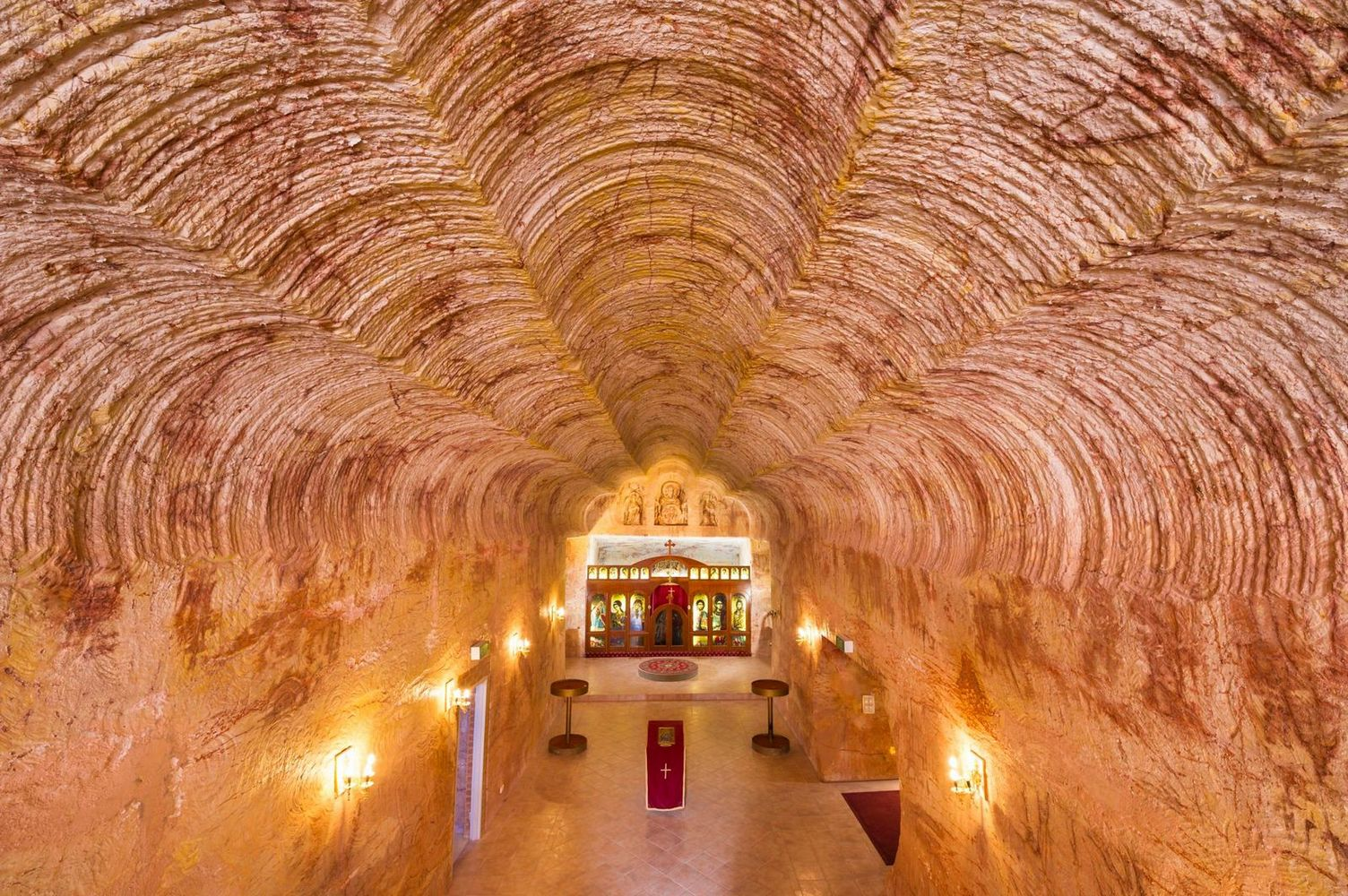 Coober Pedy chapel, Australia - 2023 solar eclipse tour