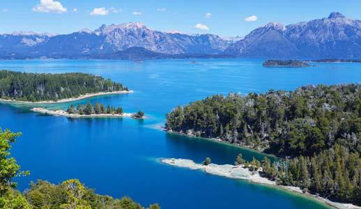 Patagonia Lake area around Bariloche