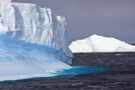 Scotia Sea Icebergs Antarctica