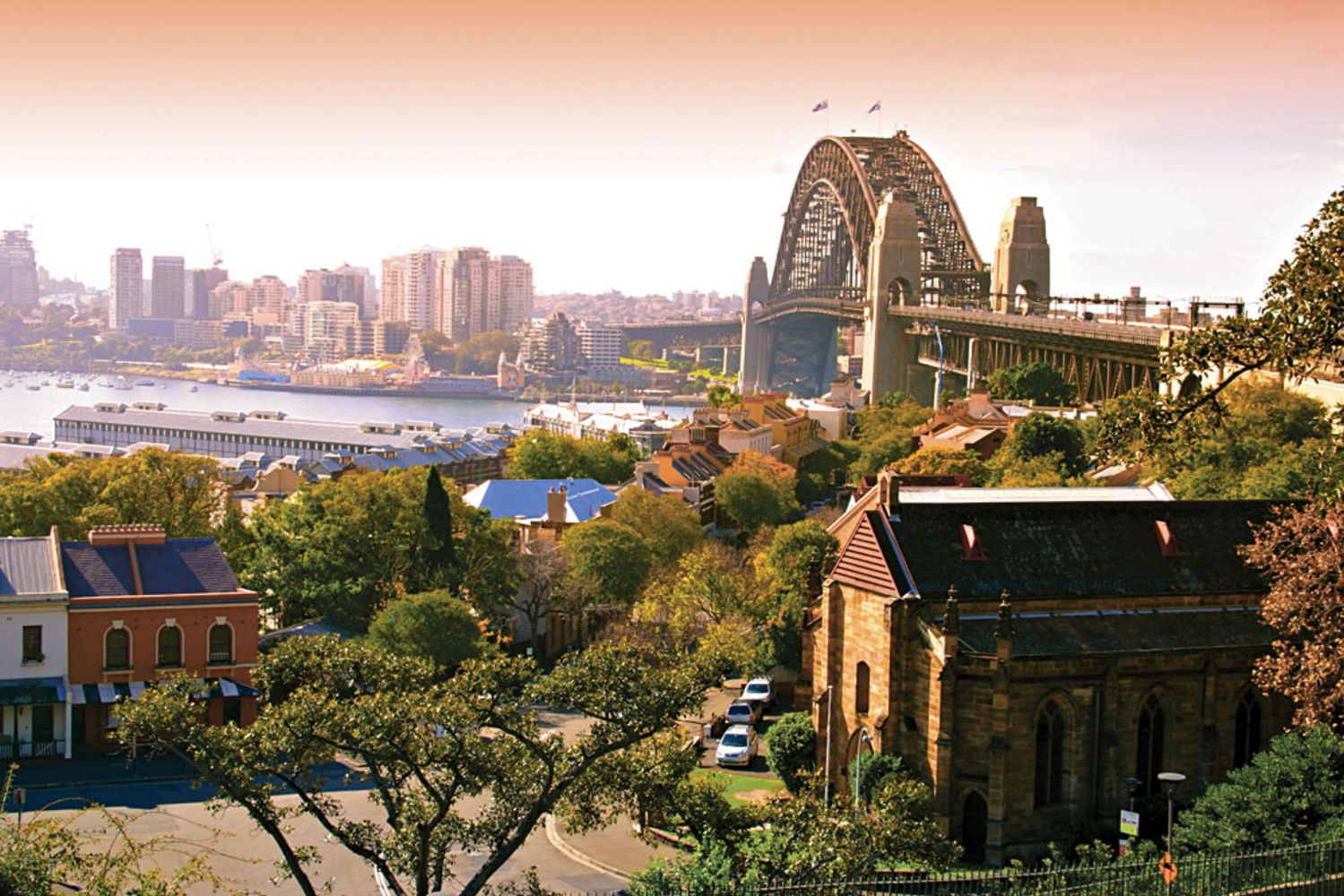Historic Sydney Rocks area, Sydney, Australia