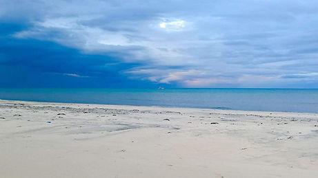 Beach outside Sfax, Tunisia