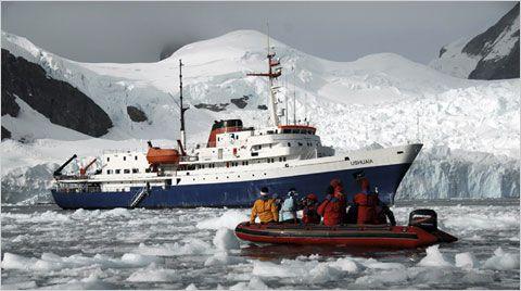MV Ushuaia and Zodiac Antarctica