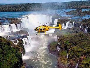 iguazu falls helicopter