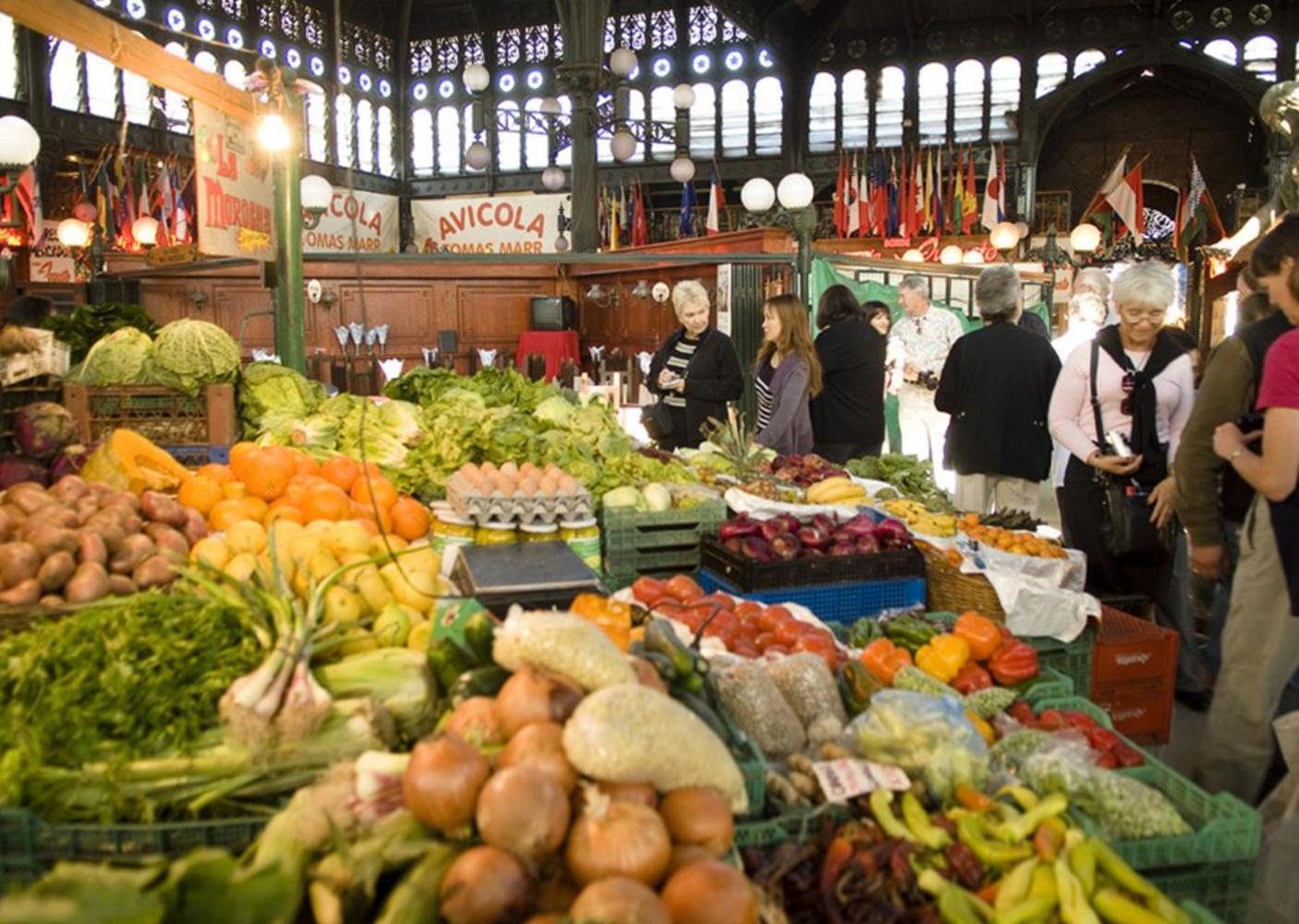 Central Market, Santiago Chile