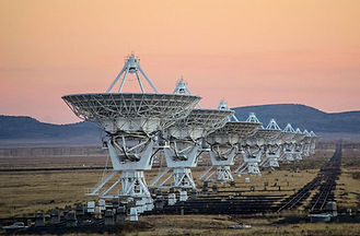 Very Large Array - 2024 Total Eclipse Tour