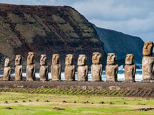 Easter Island Moai, Chile