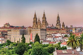 Santiago de Compostela Cathedral Spain