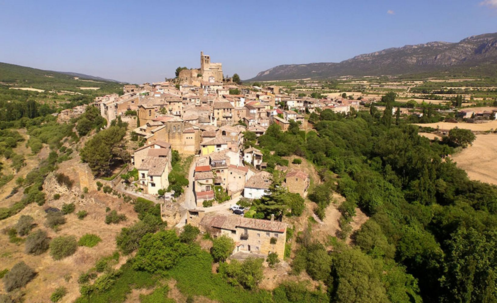Ager, Lleida Province, Spain