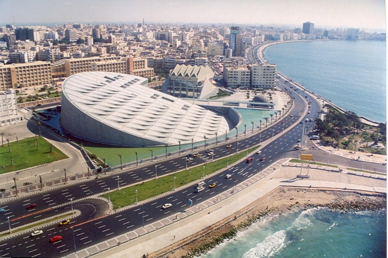 New Library Alexandria, Egypt
