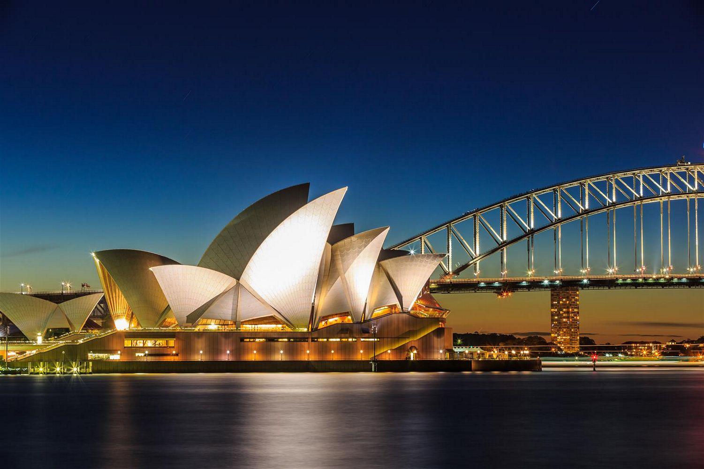 Sydney Opera House and Harbour Bridge, Australia - 2023 solar eclipse tour