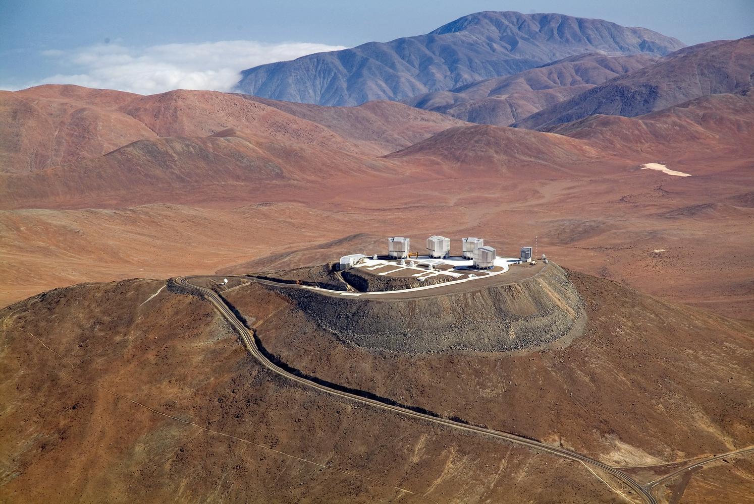 Very Large Telescopes (VLT) Cerro Paranal, Chile