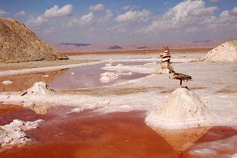 Chott el Djerid Salt Lake, Tunisia