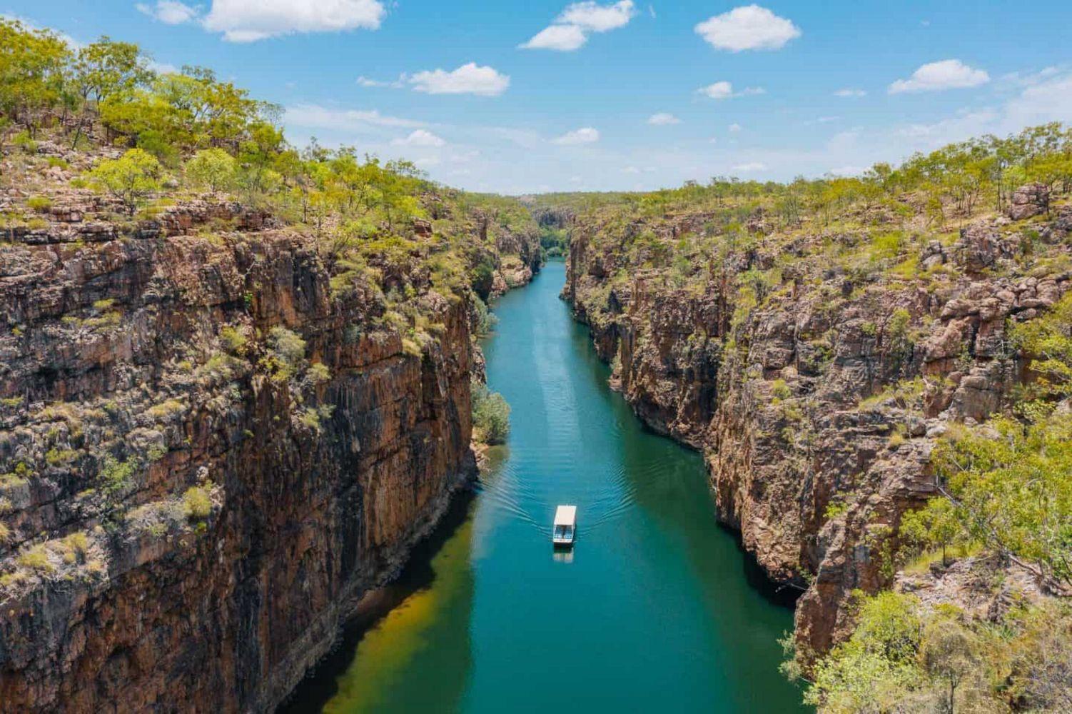Nitmiluk Cruise, Katherine Gorge, Australia